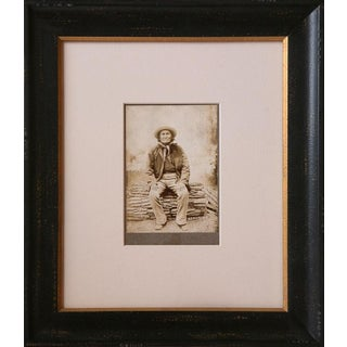 Portrait of Geronimo at Fort Sill, Oklahoma, original photograph, circa 1900