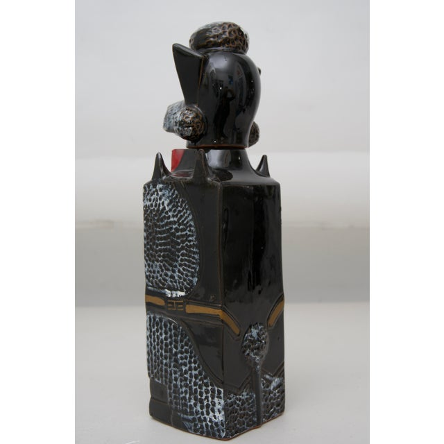1950s Mid-Century Vintage Poodle Decanter For Sale - Image 5 of 7