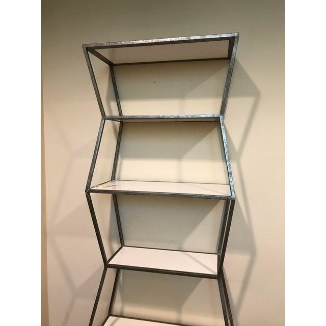 Boho Chic Mid-Century Modern Etagere Shelf For Sale - Image 3 of 6