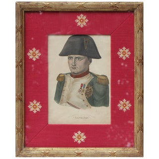 Lithograph of Napoleon For Sale