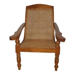 19th Century Traditional Plantation Chair For Sale