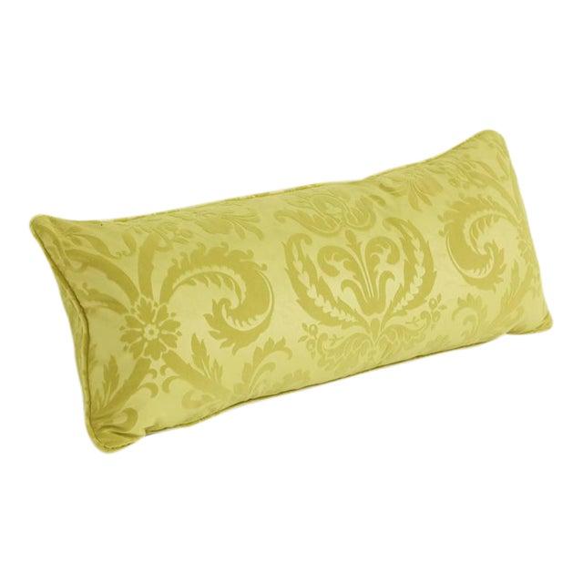 Long Damask Cushion For Sale