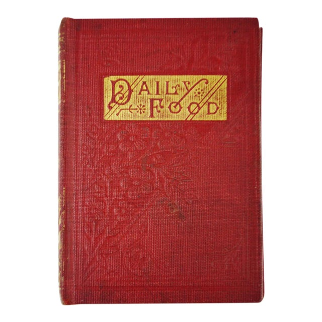 1800's Daily Food for Christians Daily Devotional Book - Image 1 of 10