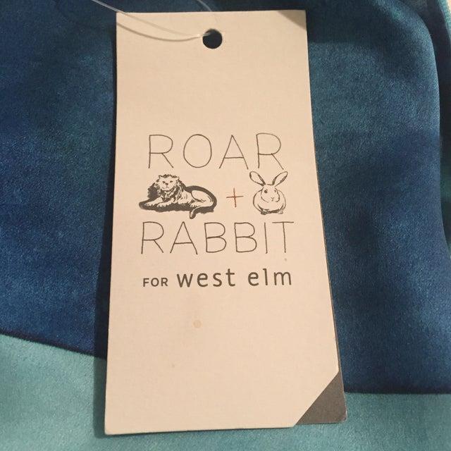 West Elm Roar + Rabbit Colorblock Pillow Cover - Image 5 of 7