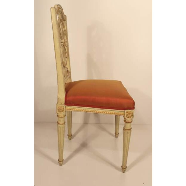 1800s Gustavian Dining Chairs - A Set of 4 For Sale - Image 4 of 6