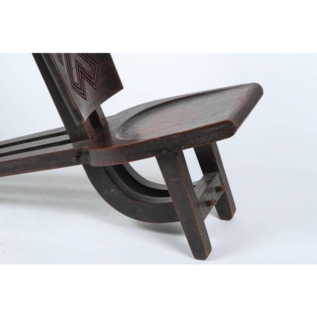 African African Tribal Baluba Chief's Chair From Katanga For Sale - Image 3 of 8