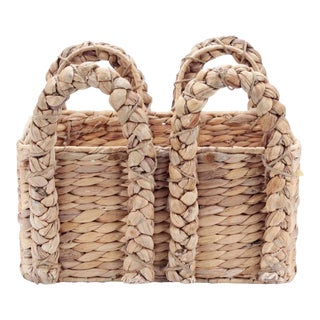 Seagrass Handle Basket For Sale