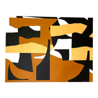 Abstract Earthy Painting
