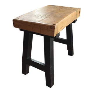 Butcher Block Table Kitchen Island
