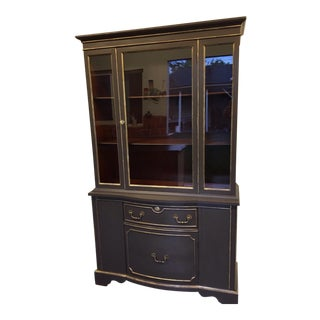 Traditional Display China Cabinet For Sale