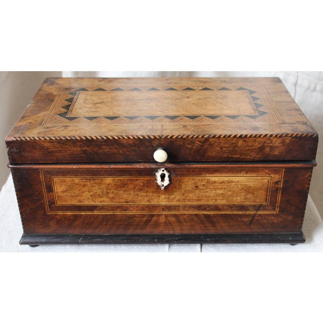Tunbridge Ware Sewing Box - Image 2 of 9