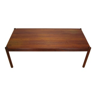 1960s Vintage Magnus Olesen for Durup Danish Teak Coffee Table For Sale