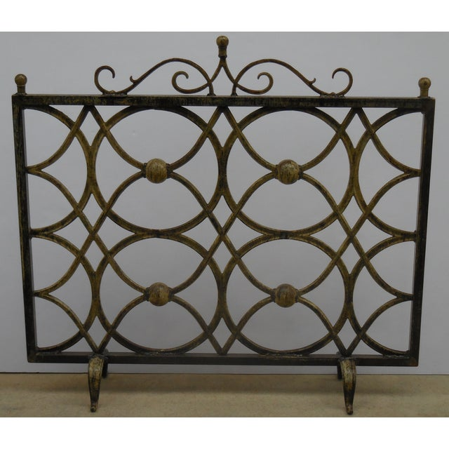 Iron Fireplace Screen - Image 10 of 11
