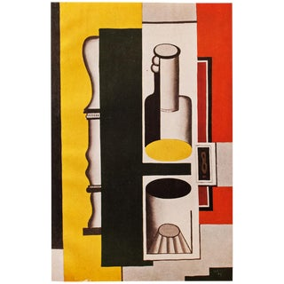 1948 Fernand Léger Original Period Parisian Still Life Lithograph For Sale