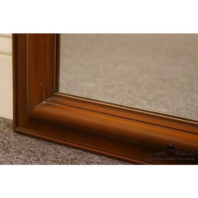 Fruitwood Late 20th Century Vintage Kindel Grand Rapids Dresser / Wall Mirror For Sale - Image 7 of 11
