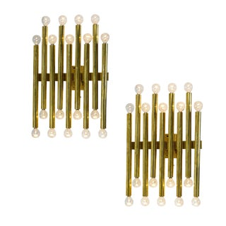Pair of Gio Ponti (Attr.) Sconces For Sale