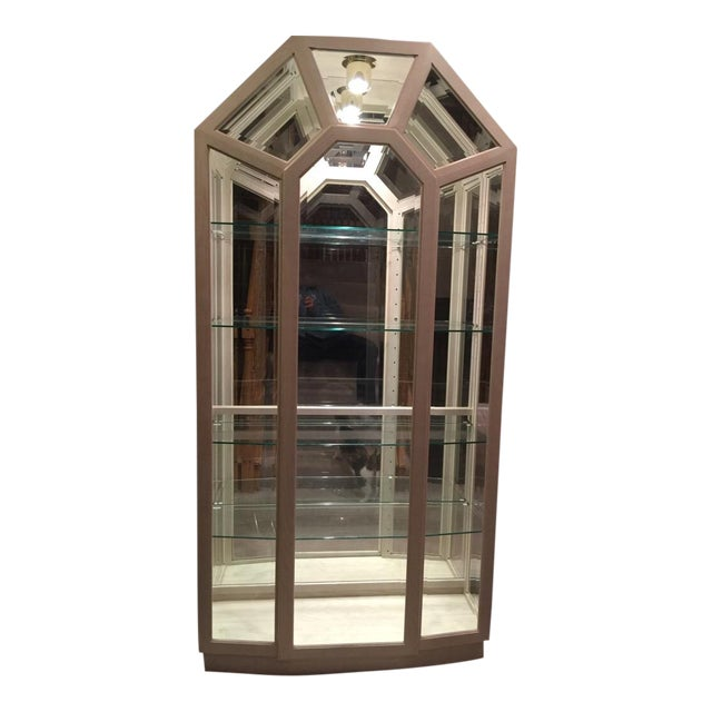 Lighted Curio Cabinet - Image 1 of 4