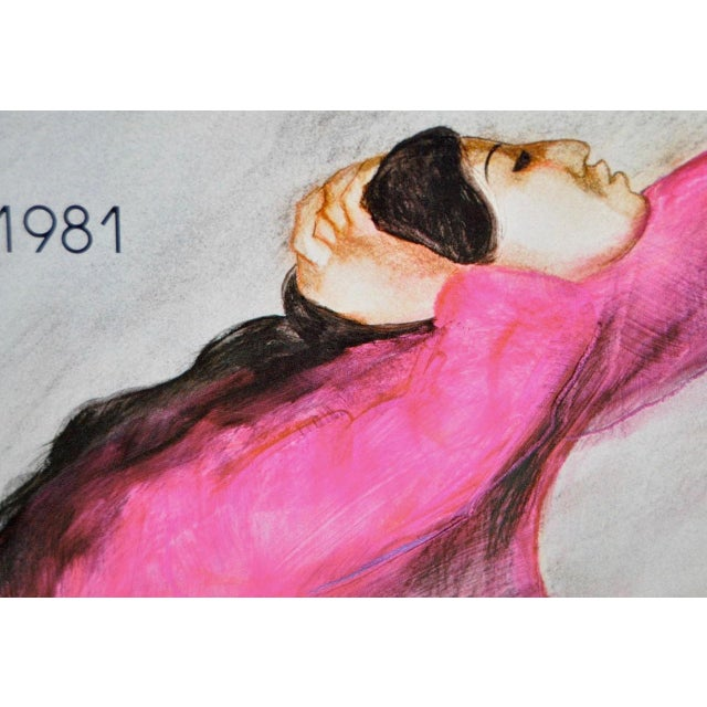 R.C. Gorman 1981 Art Exhibition Poster - Image 4 of 5