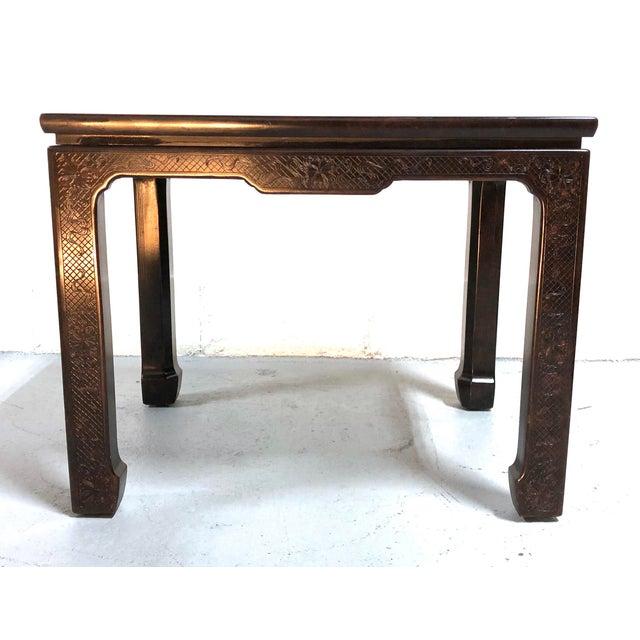 Mario Buatta for John Widdicomb Chinoiserie Coffee Table For Sale - Image 11 of 13