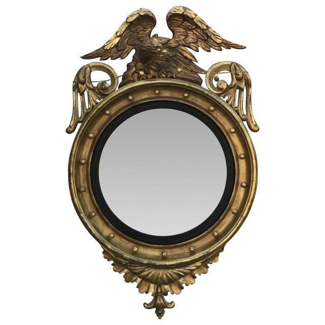 Gilded Bullseye Mirror For Sale In Atlanta - Image 6 of 6