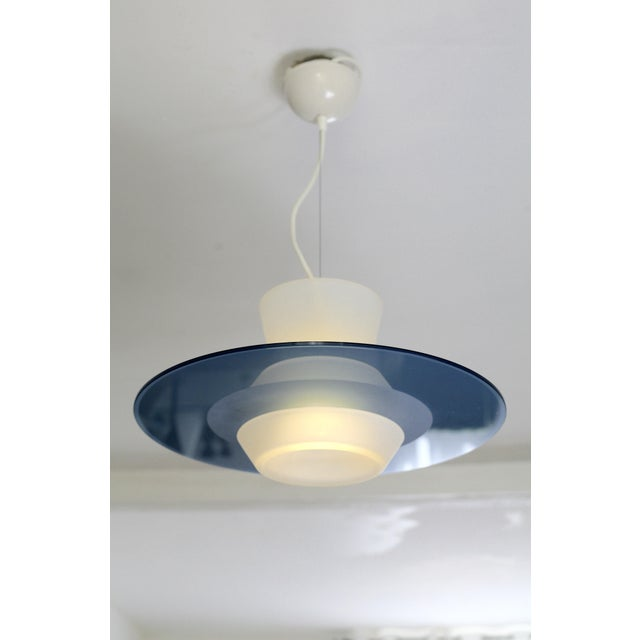 "Mid-Century Modern Vintage Guiseppe Ramella ""Zefiro"" Pendant Light by Arteluce, Italy 1987 For Sale - Image 3 of 4"