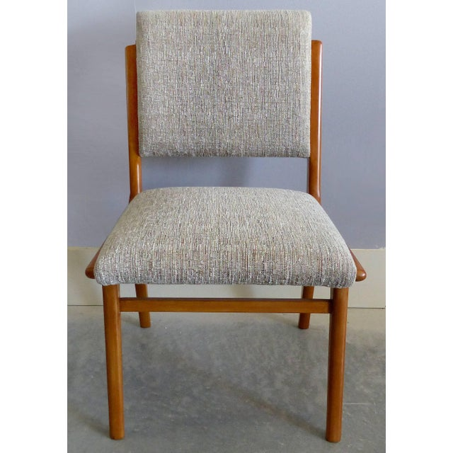 Mid 20th Century Giuseppe Scapinelli De Rosa Wood Dining Table and Chairs Circa 1960 For Sale - Image 5 of 11