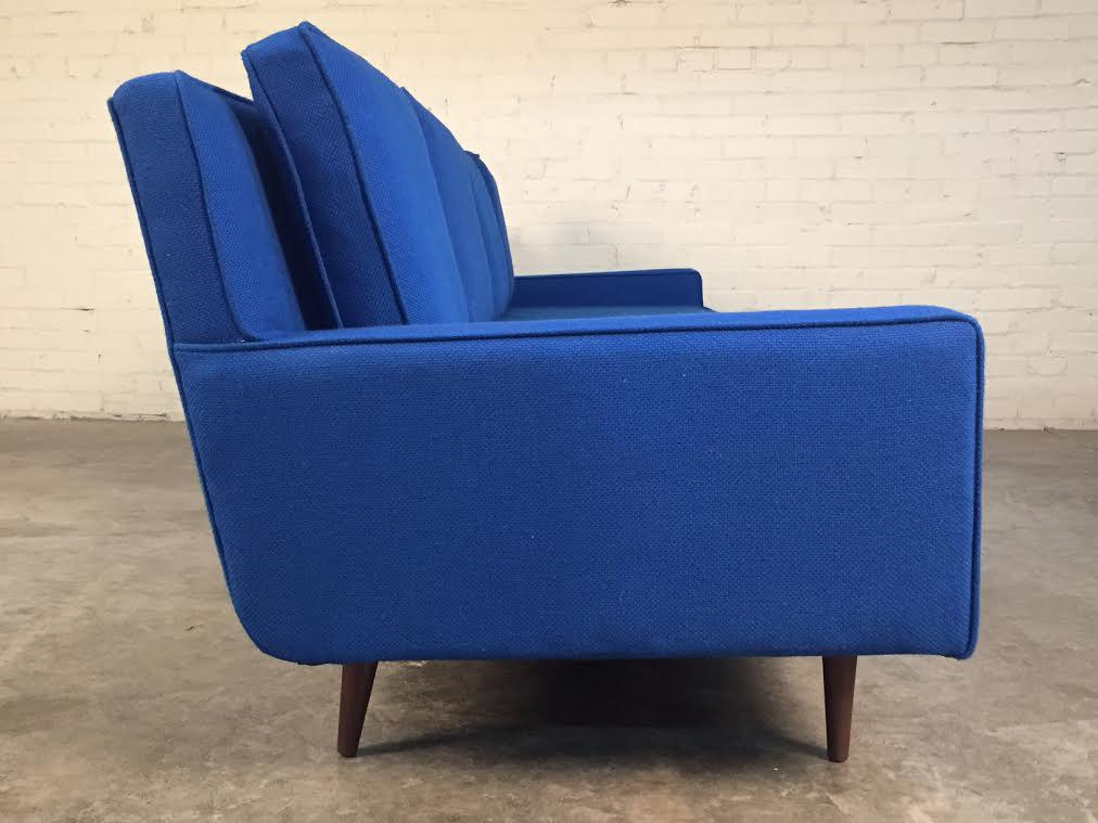 Attrayant Weiland Royal Blue Mid Century Modern Sofa For Sale In Saint Louis   Image 6