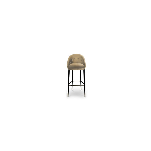Nessa Bar Stool From Covet Paris For Sale - Image 4 of 5