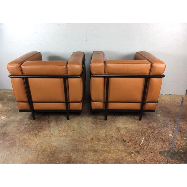 Cassina Le Corbusier Lc2 Club Chairs - a Pair | Chairish