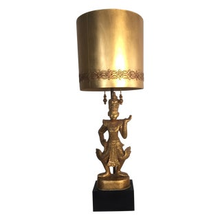 Monumental James Mont Lamp For Sale