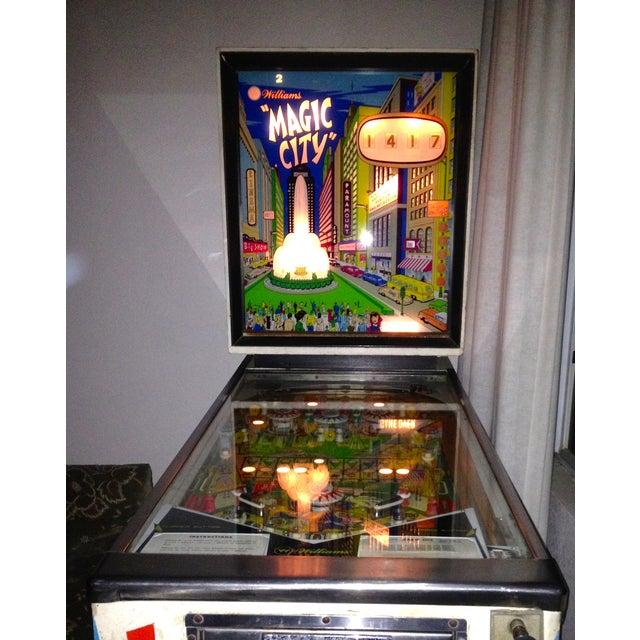Mid-Century Williams Magic City Pinball Machine - Image 7 of 10