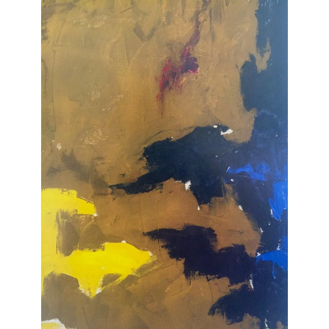 """Black Clyfford Still Abstract Expressionst Offset Lithograph Print Museum Poster """" Ph - 321 """" 1948 For Sale - Image 8 of 13"""