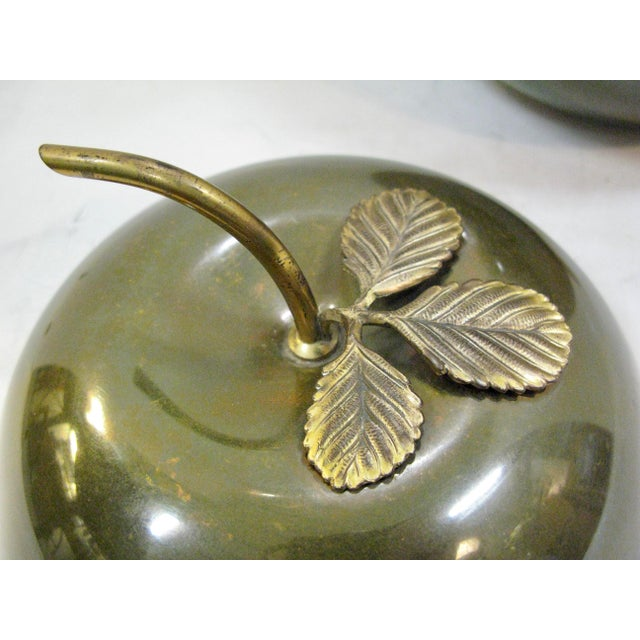 Art-Deco Apple Ice Bucket by Apollo Studio, 1920 For Sale In West Palm - Image 6 of 11