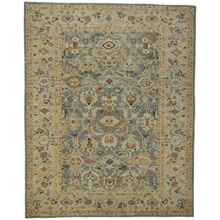 Persian Neoclassic Style Sultanabad Rug - 11'07 X 14'06 For Sale