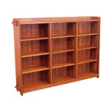 Image of Stickley Mission Collection Cherry Open Bookcase For Sale