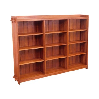 Stickley Mission Collection Cherry Open Bookcase For Sale