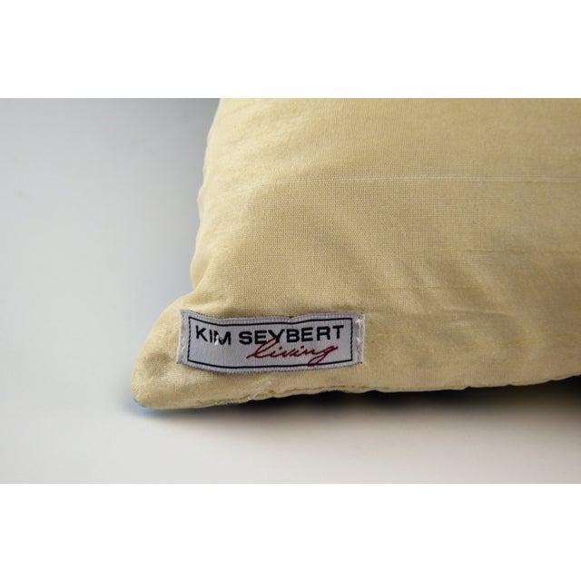Kim Seybert Embroidered Throw Pillows A Pair Chairish