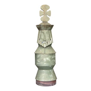 King Chess Piece Chimney Pot