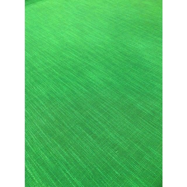Kate Spade for Kravet Inc Millwood - Modern Picnic Green Designer Multipurpose Fabric - 7.25 Yards For Sale
