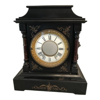 Early 20th Century Victorian Mantel Clock For Sale