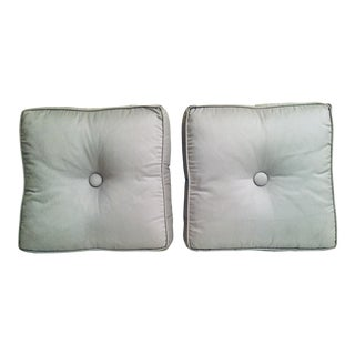 Italian Custom Down Filled Pillows - a Pair For Sale