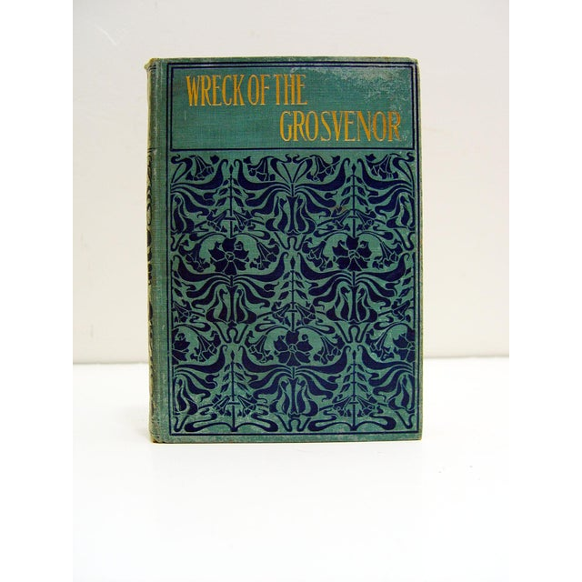The Wreck of the Grosvenor, by W. Clark Russell. M. M. Caldwell publishers, no date but from 1890s. Adventure and mutiny...