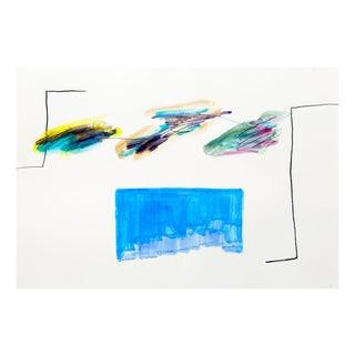 """Claude Tétot """"Untitled 9"""", Painting For Sale"""