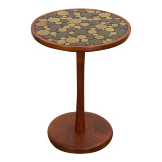 1960s Martz Coin Tile Side Table For Sale