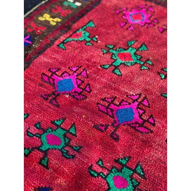 Textile Vintage Turkish Anatolian Rug - 3′ × 6′8″ For Sale - Image 7 of 11