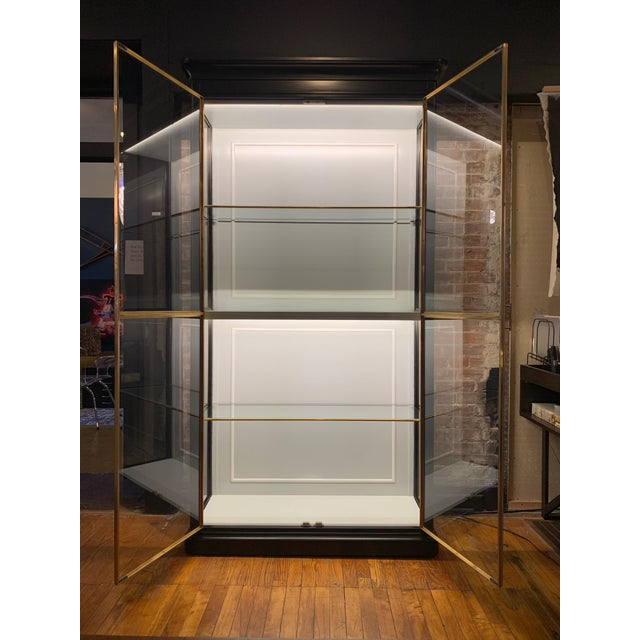 Fenwick Etagere Lighted Cabinet For Sale In Saint Louis - Image 6 of 12