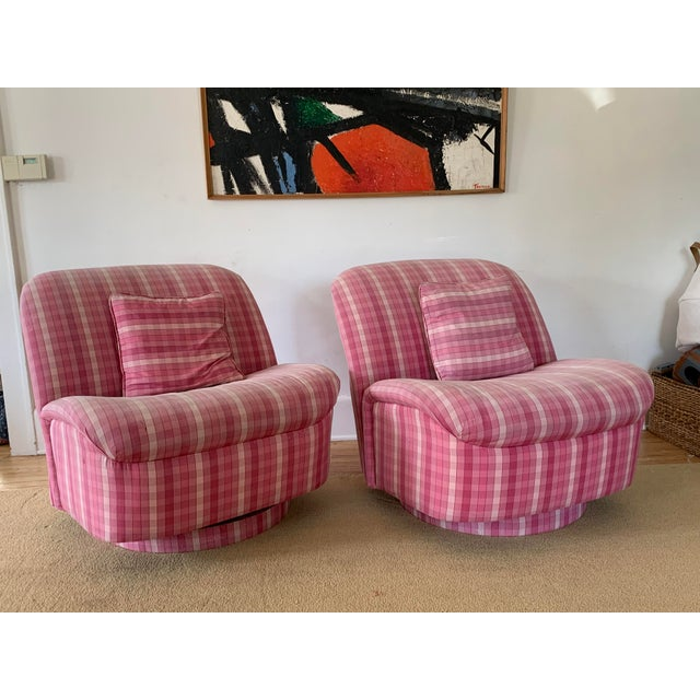 Directional Furniture Clamshell Chair - A Pair For Sale - Image 9 of 9