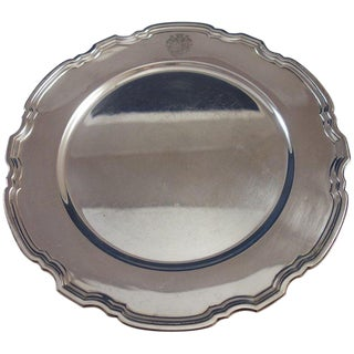 Hampton by Tiffany & Co. Sterling Silver Charger Plate #20843 For Sale
