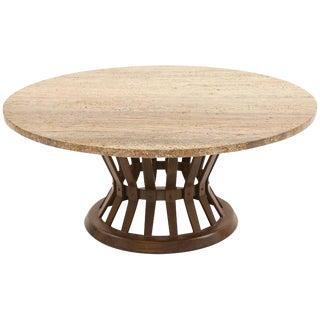 1960s Mid-Century Modern Edward Wormley for Dunbar Sheaf of Wheat Cocktail Table For Sale