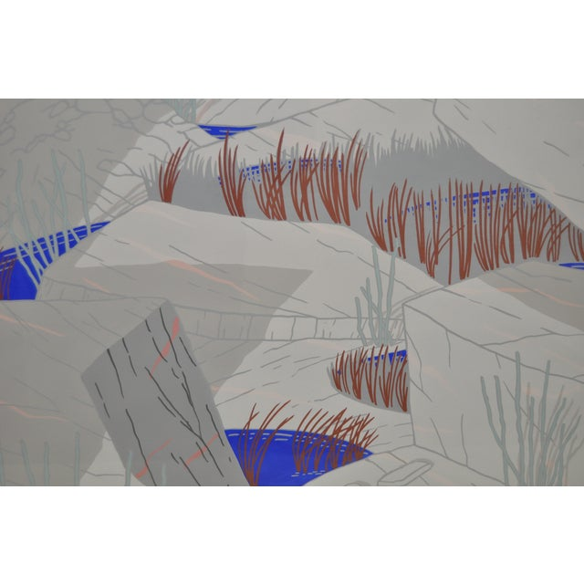 "Jeff Long ""Indian Wells"" Painting C.1983 - Image 4 of 6"